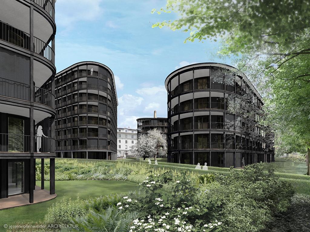 mietwohnungen riva wohnen am rhein hier wohnen. Black Bedroom Furniture Sets. Home Design Ideas